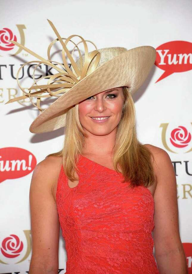 Professional Skier Lindsey Vonn attends the 137th Kentucky Derby at Churchill Downs on May 7, 2011 in Louisville, Kentucky. Photo: Michael Loccisano, Getty Images / 2011 Getty Images