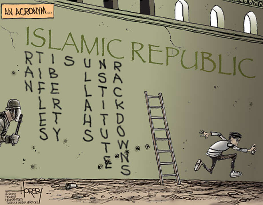 An acronym ... - Originally published on July 1, 2009 Photo: David Horsey, Seattlepi.com