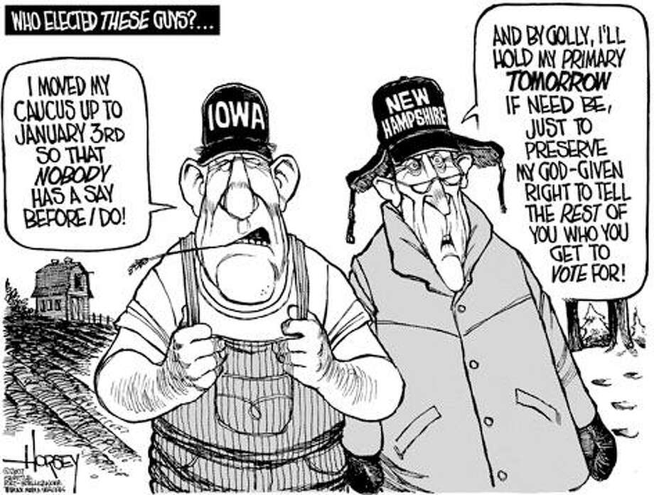 Who elected these guys?... - Originally published on November 1, 2007 Photo: David Horsey, Seattlepi.com