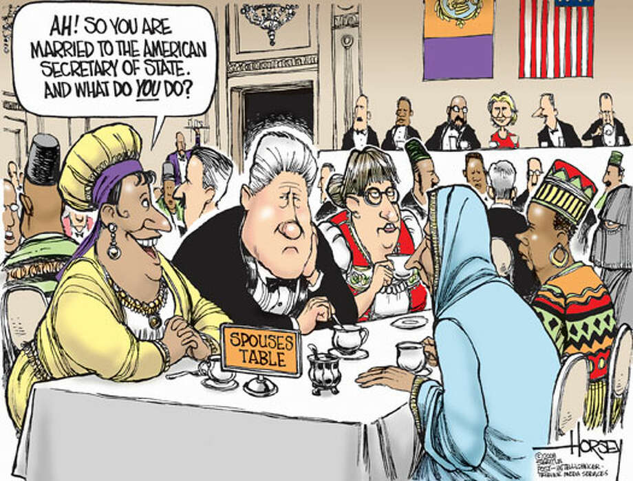 Bill's new role? - Originally published on December 2, 2008 Photo: David Horsey, Seattlepi.com