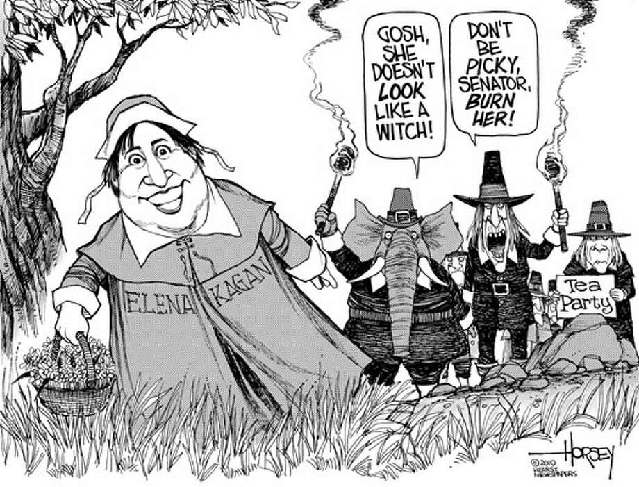 Burn Kagan ... - Originally published on May 12, 2010 Photo: David Horsey, Seattlepi.com