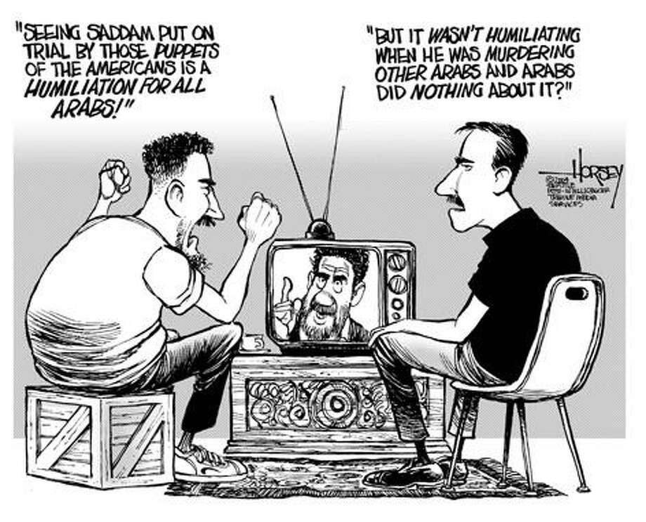 On Arab shame ... - Originally published on July 4, 2004 Photo: David Horsey, Seattlepi.com