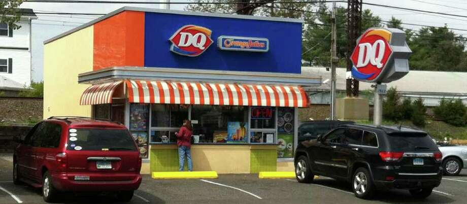 Dairy Queen, a fixture at 1902 Post Road, recently added Orange Julius to its menu and underwent a complete renovation. Photo: Contributed Photo