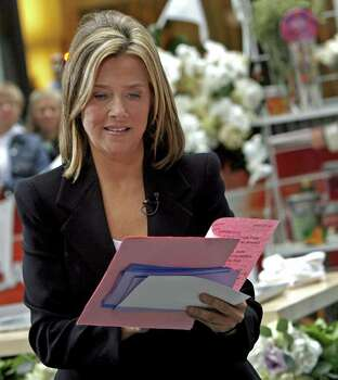 "** ADVANCE FOR MONDAY DEC. 4 **FILE**Meredith Vieira looks over a list of cues during her first day on NBC's ""Today"" show  in Rockefeller Plaza on Wednesday, Sept. 13, 2006 in New York. Photo: JASON DECROW, AP / AP"
