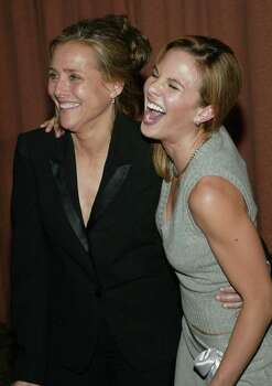 NEW YORK - JUNE 22:  Talk show hosts Meredith Vieira and Elisabeth Hasselbeck attend the 2004 American Women in Radio and Television Gracie Allen Awards gala on June 22, 2004 at the New York Hilton Hotel, in New York City. Photo: Evan Agostini, Getty Images / 2004 Getty Images
