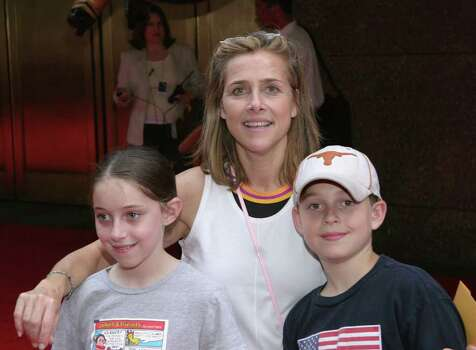 NEW YORK - MAY 23:  (US TABS AND HOLLYWOOD REPORTER OUT) Actress Meredith Vieira and her children attend the Premiere of Harry Potter And The Prisoner Of Azkaban at Radio City Music Hall on May 23, 2004 in New York City. Photo: Thos Robinson, Getty Images / 2004 Getty Images