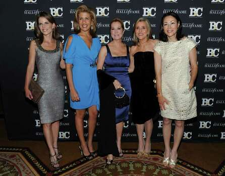NEW YORK - OCTOBER 27:  Television personalities Natalie Morales, Hoda Kotb, Kathie Lee Gifford, Meredith Vieira and Ann Curry attend the 20th Annual Broadcasting and Cable Hall of Fame Awards at The Waldorf Astoria on October 27, 2010 in New York City.  (Photo by Jason Kempin/Getty Images) *** Local Caption *** Natalie Morales;Hoda Kotb;Kathie Lee Gifford;Meredith Vieira;Ann Curry Photo: Jason Kempin, Getty Images / 2010 Getty Images