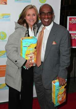 "NEW YORK - APRIL 07:  Meredith Vieira and Al Roker promote ""Today's Moms - Essentials for Surviving Baby's First Year"" at Rouge Tomate on April 7, 2009 in New York City.  (Photo by Andrew H. Walker/Getty Images) *** Local Caption *** Meredith Vieira;Al Roker Photo: Andrew H. Walker, Getty Images / 2009 Getty Images"