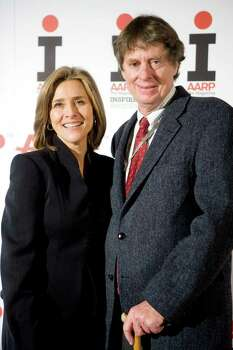 WASHINGTON - DECEMBER 08:  Meredith Vieira, host of NBC's Today Show, and her husband Richard M. Cohen, a 2009 honoree for his work advocating on behalf of the chronically ill, attend the 2009 Inspire Awards hosted by AARP Magazine at the National Museum of Women in the Arts on December 8, 2008 in Washington, DC. The Inspire Awards pay tribute to ten people who inspire others to action through their innovative thinking, passion, and perseverance.  (Photo by Brendan Hoffman/Getty Images) *** Local Caption *** Meredith Vieira;Richard M. Cohen Photo: Brendan Hoffman, Getty Images / 2008 Getty Images