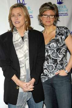 NEW YORK - APRIL 05:  Meredith Vieira and Ashleigh Banfield poses at the Fifth Annual National Love Our Children Day at Spotlight Live on April 5, 2008 in New York City. Photo: Rob Loud, Getty Images / 2008 Getty Images