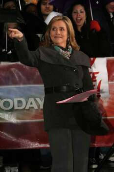 "NEW YORK - APRIL 04:  NBC's 'Today' show host Meredith Vieira appears on NBC's ""Today"" Show at Rockefeller Center on April 4, 2008 in New York City. Photo: Bryan Bedder, Getty Images / 2008 Getty Images"