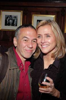 NEW YORK - NOVEMBER 8: Comedian Gilbert Godfried and Meredith Vieira attend the Friars Club's 50th Annivarsary Celebration on November 8, 2007 in New York City.  (Photo by Steven Henry/Getty Images) *** Local Caption *** Meredith Vieira;Gilbert Godfried Photo: Steven Henry, Getty Images / 2007 Getty Images