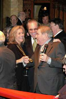 NEW YORK - NOVEMBER 8:  Meredith Vieira (L) and Danny Aiello (C) attend the Friars Club's 50th Annivarsary Celebration on November 8, 2007 in New York City.  (Photo by Steven Henry/Getty Images) *** Local Caption *** Danny Aiello;Meredith Vieira Photo: Steven Henry, Getty Images / 2007 Getty Images