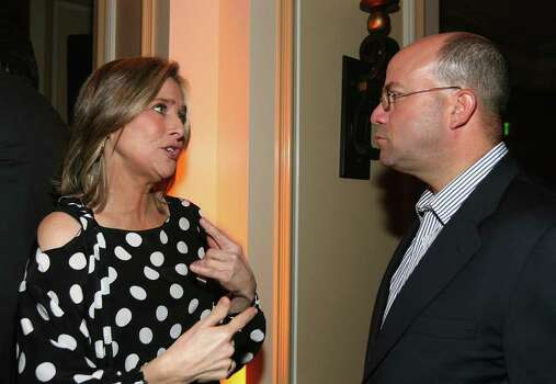PASADENA, CA - JANUARY 17:  Television personality Meredith Vieira (L) and Chief executive officer of the NBC Jeff Zucker attend NBC's Winter Press Tour All-Star Party at the Ritz-Carlton Hotel on January 17, 2007 in Pasadena, California. Photo: Michael Buckner, Getty Images / 2007 Getty Images