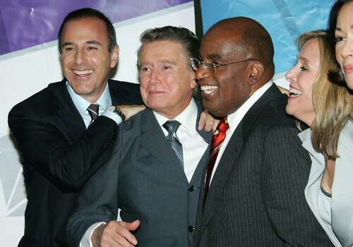 NEW YORK - MAY 15:  (L to R) Television personalities  Matt Lauer, Regis Philbin,Al Roker and Meredith Vieira attend the NBC Primetime Preview 2006-2007 at Radio City Music Hall on May 15, 2005 in New York City. Photo: Evan Agostini, Getty Images / 2006 Getty Images