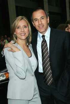 "NEW YORK - MAY 15:  (L to R) Television personalities  Meredith Vieira and Matt Lauer, of the NBC ""Today"" show, attend the NBC Primetime Preview 2006-2007 at Radio City Music Hall on May 15, 2005 in New York City. Photo: Evan Agostini, Getty Images / 2006 Getty Images"