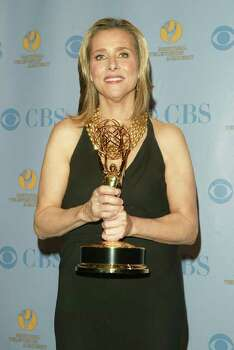 NEW YORK - MAY 20:  Television personality Meredith Vieira poses with her award for outstanding game show host in the press room at the 32nd Annual Daytime Emmy Awards at Radio City Music Hall May 20, 2005 in New York City. Photo: Peter Kramer, Getty Images / 2005 Getty Images