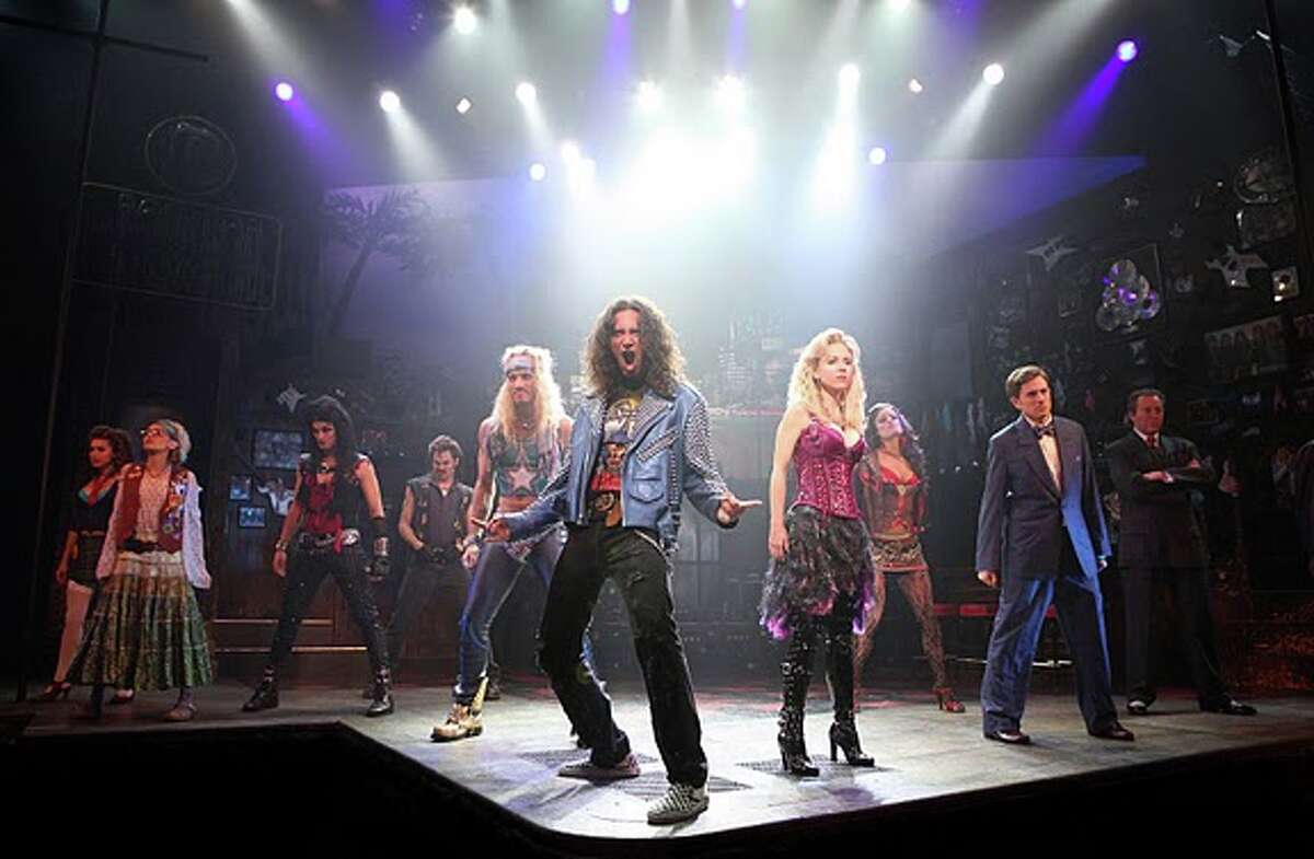 """""""Rock of Ages"""" opens at the Majestic Theatre Tuesday. COURTESY JOAN MARCUS"""