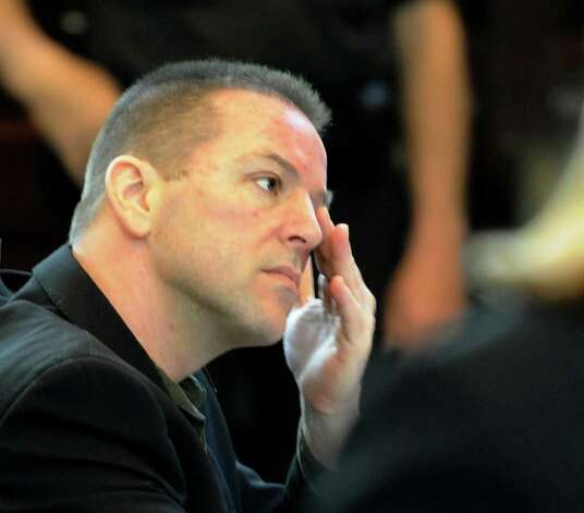Michael Mosley listens during his murder trial May 9, 2011,  in Rensselaer County Court in Troy. (Skip Dickstein / Times Union)   (Skip Dickstein / Times Union) Photo: SKIP DICKSTEIN / 00013077A