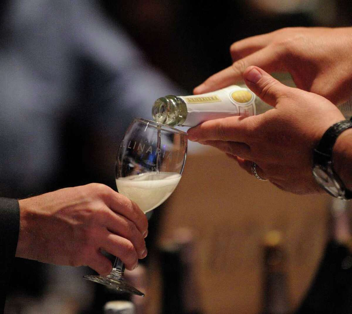 Wines from around the world will be served at the Grand Tasting during Culinaria.