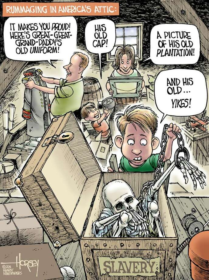 Rummaging in America's attic - Originally published April 14, 2011 Photo: David Horsey, Seattlepi.com