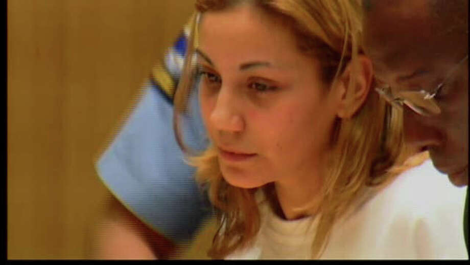 Yadira Torres was arraigned at state Superior Court in Stamford, where she faces two counts of second-degree manslaughter and single charges of reckless driving and driving under the influence of alcohol. Photo: Contributed Photo, Contributed Photo/WTNH / Connecticut Post Contributed