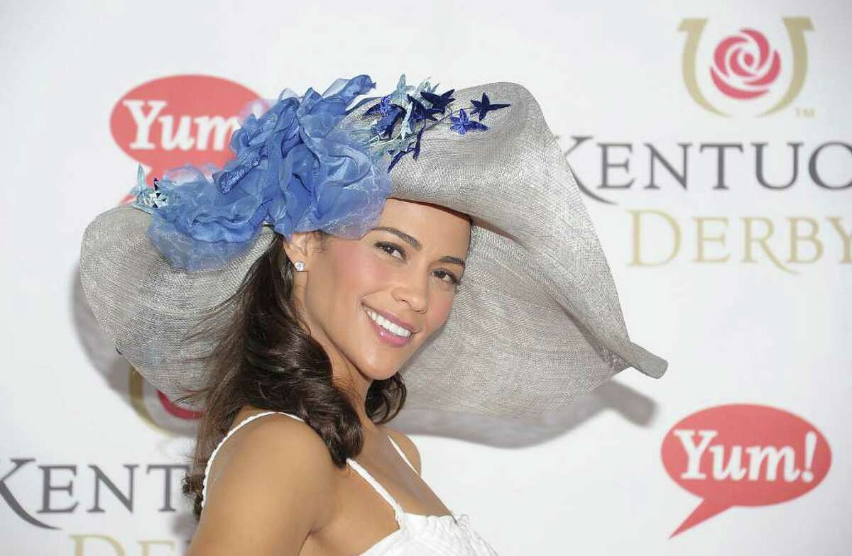 LOUISVILLE, KY - MAY 07: Actress Paula Patton attends the 137th Kentucky Derby at Churchill Downs on May 7, 2011 in Louisville, Kentucky. (Photo by Michael Loccisano/Getty Images) *** Local Caption *** Paula Patton;