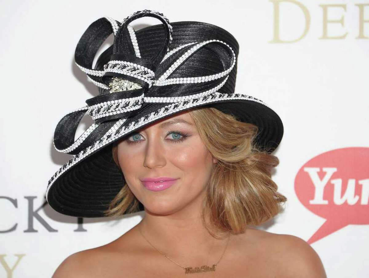 LOUISVILLE, KY - MAY 07: Singer/TV personality Aubrey O'Day attends the 137th Kentucky Derby at Churchill Downs on May 7, 2011 in Louisville, Kentucky. (Photo by Michael Loccisano/Getty Images) *** Local Caption *** Aubrey O'Day;