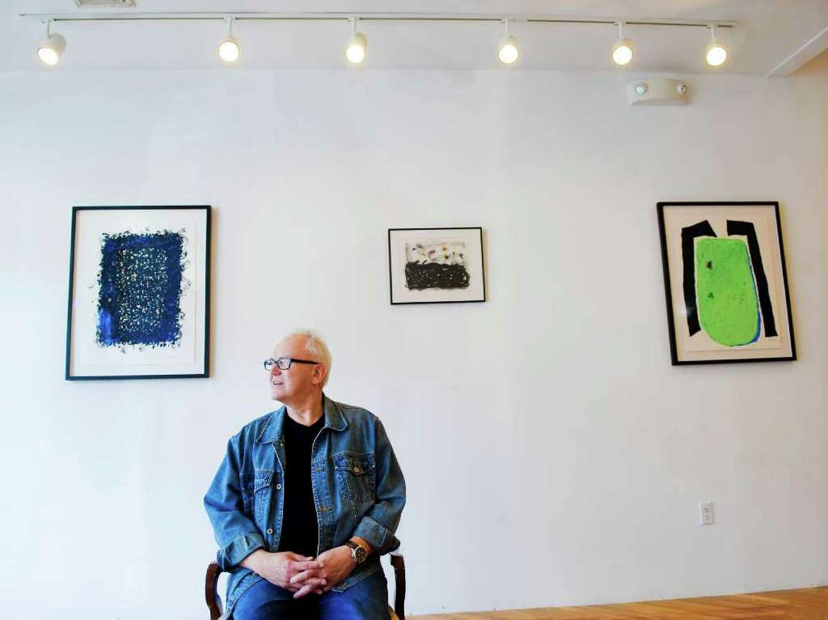 Fernando Luis Alvarez Gallery has launched Sprouting Spaces, which transforms vacant commercial lots into open artist studios. Robert Wilson, of Stamford, who is the father of