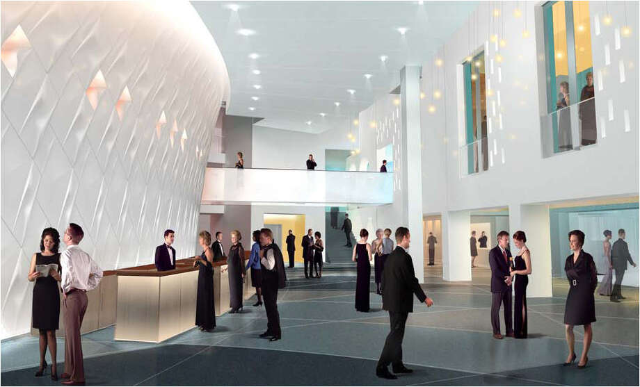 The latest renderings from the Tobin Center for the Performing Arts. As of 5/9/2011. Photo: COURTESY ILLUSTRATION / Courtesy of the Bexar County Performing Arts Center Foundation