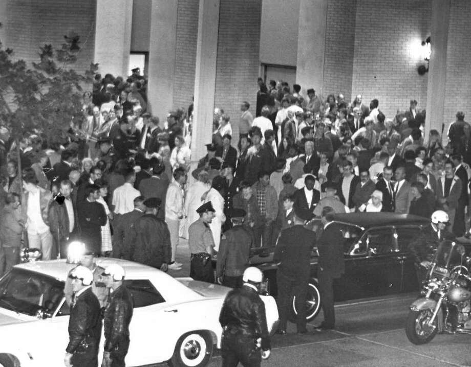 A scene at the Seattle Center, Sept. 30, 1968.(seattlepi.com file photo) Photo: Seattlepi.com File / Seattle Post-Intelligencer