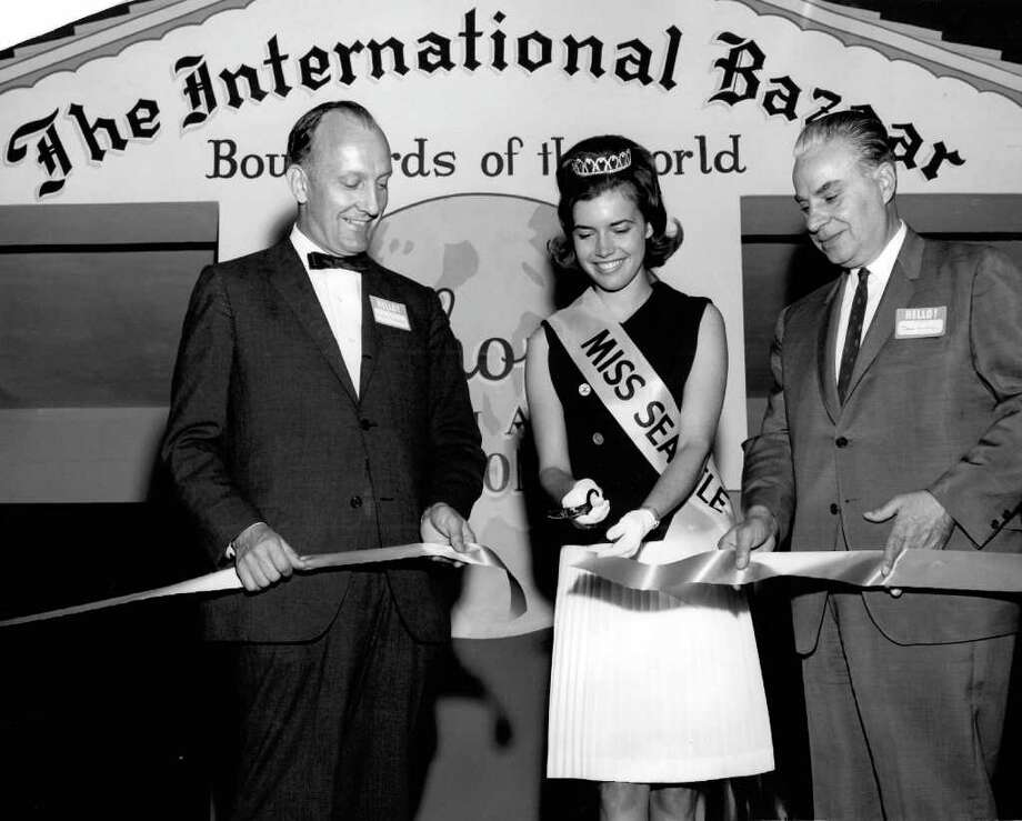 This photo was taken at the International Bazaar