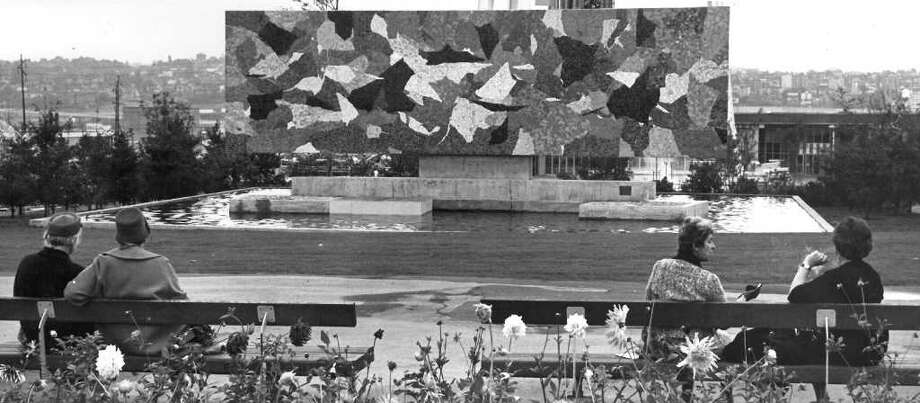 Horiuchi Mural at the Seattle Center. Oct. 14,