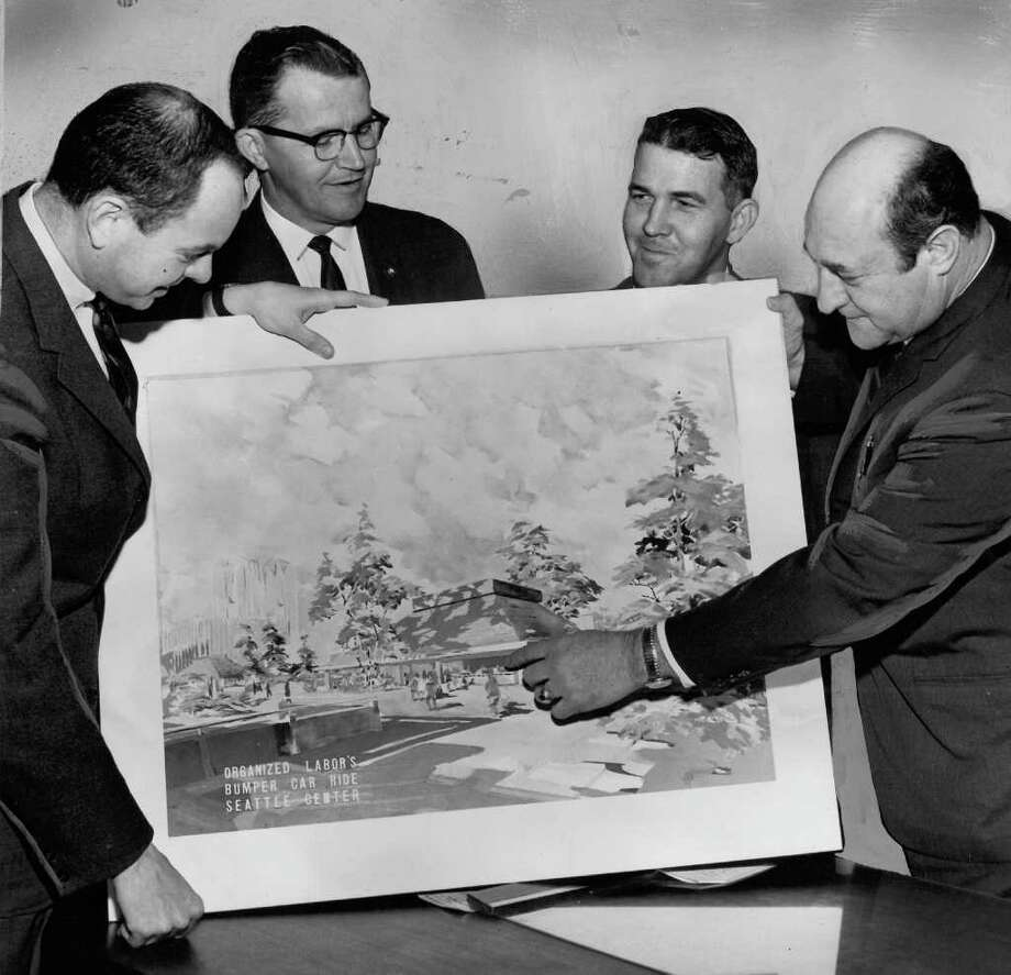 Seattle Center acting director Donald I. Foster