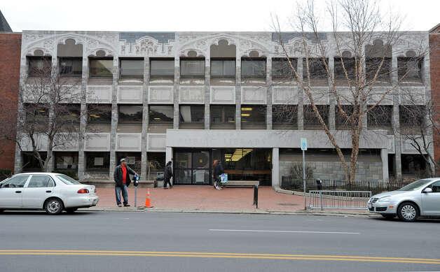Exterior of the Albany Public Library in Albany, NY.  (Lori Van Buren / Times Union archive) Photo: Lori Van Buren