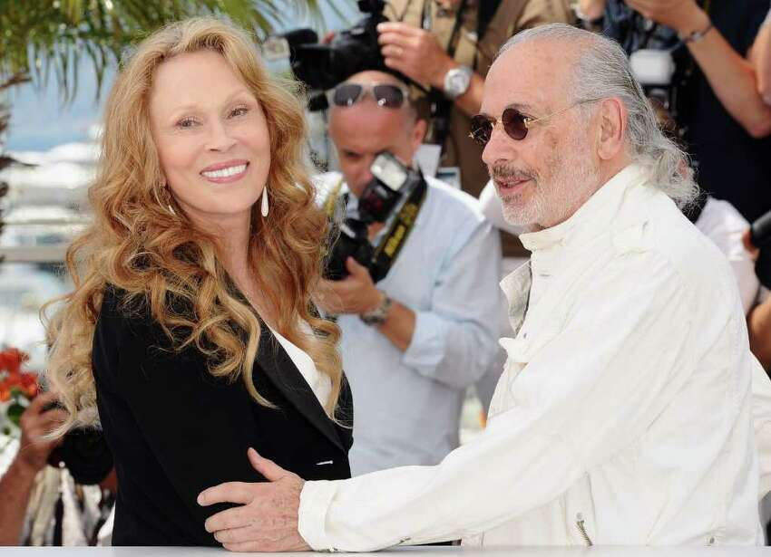 CANNES, FRANCE - MAY 11: Actress Faye Dunaway (L) and photographer and film maker Jerry Schatzberg attend the 'Puzzle Of A Downfall Child' photocall at the Palais des Festivals during the 64th Cannes Film Festival on May 11, 2011 in Cannes, France. (Photo by Ian Gavan/Getty Images) *** Local Caption *** Faye Dunaway;Jerry Schatzberg;