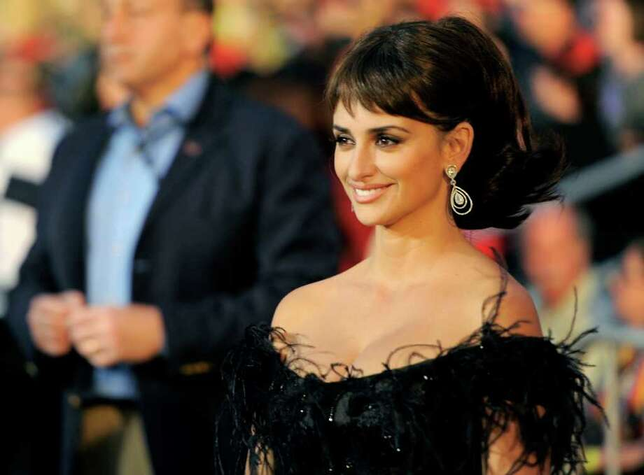 "Penélope Cruz arrives at the World Premiere of ""Pirates of the Caribbean: On Stranger Tides"" at Disneyland in Anaheim, Calif., on Saturday, May 7, 2011. Photo: AP"
