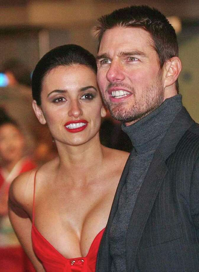 ** FILE ** US actor Tom Cruise and Spanish actress Penelope Cruz, are seen in this Jan. 6, 2004 file photo in London's Leicester Square, for the British premiere of his film, The Last Samurai. Tom Cruise and Penelope Cruz have ended their three-year relationship said Lee Anne DeVette, Cruise's sister and publicist. Photo: MAX NASH, AP / AP