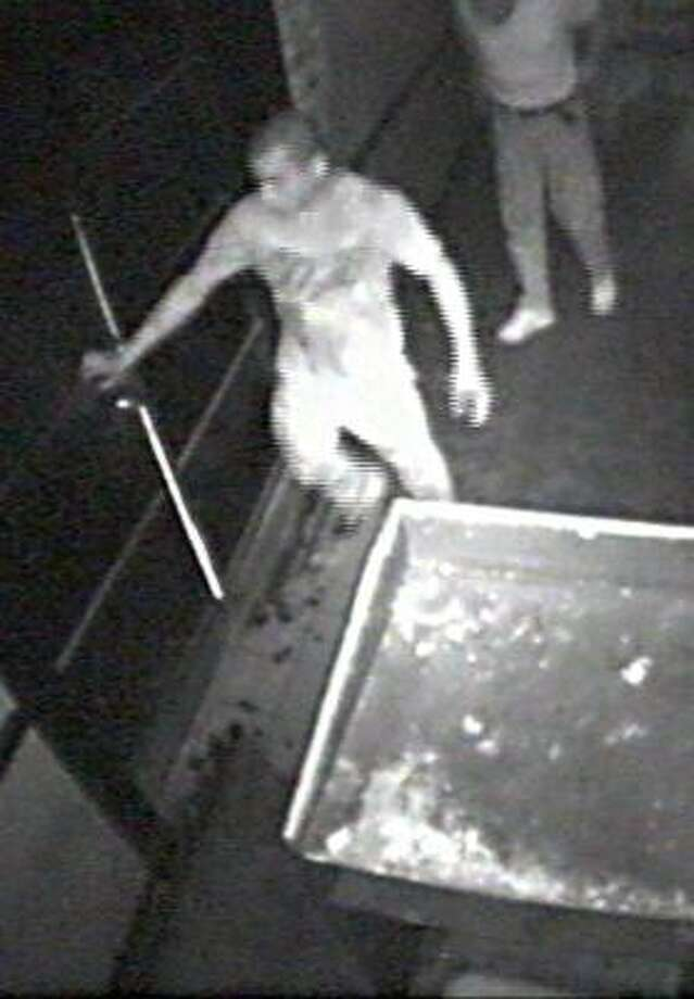 Police have released this surveillance photo in the case. Photo: Crime Stoppers