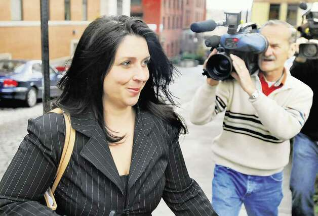 Angela Lopez leaves the Albany County Judicial Center in November. (Cindy Schultz / Times Union archive) Photo: Cindy Schultz