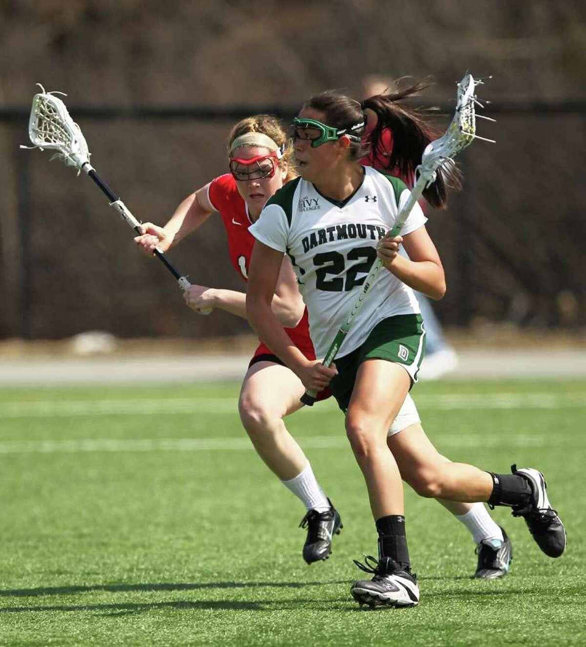 Dartmouth University's Hana Bowers.