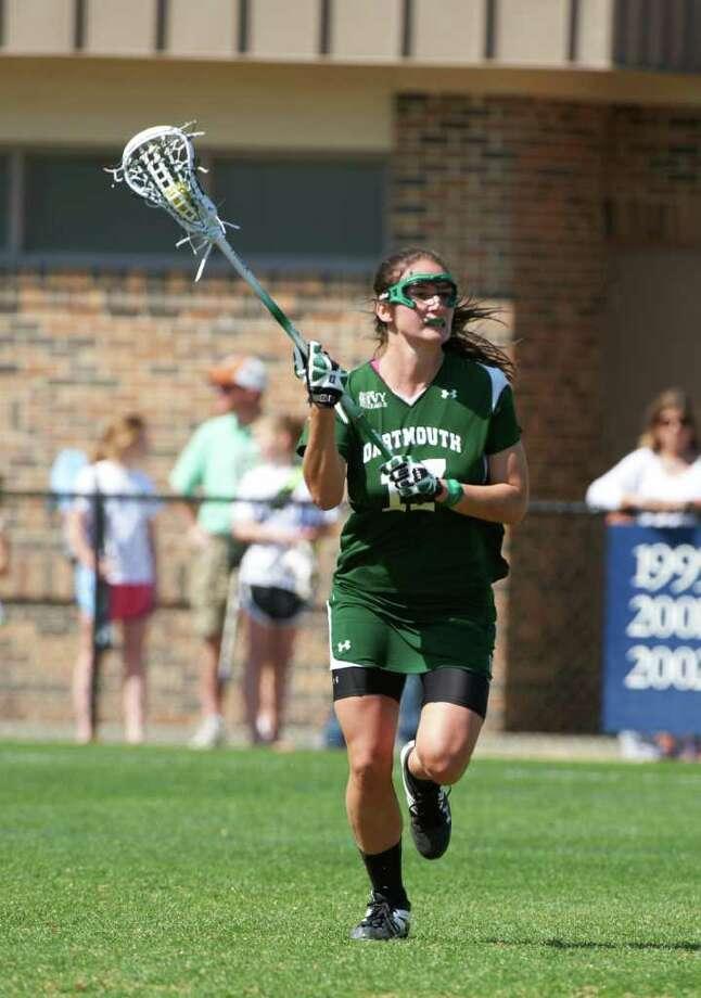 Dartmouth University captain Shannie MacKenzie. Photo: Max Turner;Contributed Photo, Max Turner/Dartmouth University / ©2011  Max Turner Durham, NC (919) 544-1326 (919) 414-2273 max.turner@ncrrbiz.com
