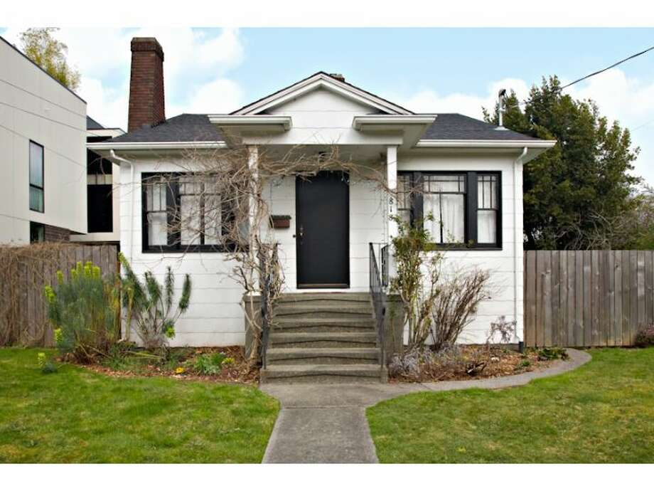 "Georgetown is, by now, firmly established as a hip, artsy Seattle neighborhood with some interesting houses and convenient access to downtown. Here are a couple homes, starting with This three-bedroom, 1.75-bath house at 818 S. Orcas St. for $334,000. The 1,540-square-foot house was built in 1926 and features a 6,000-square-foot lot, master suite and wine cellar in the finished basement and a ""man cave/studio."" (Listing: http://www.windermere.com/index.cfm?fuseaction=listing.PP3ListingDetail&ListingID=129784360) Photo: Windermere Real Estate"
