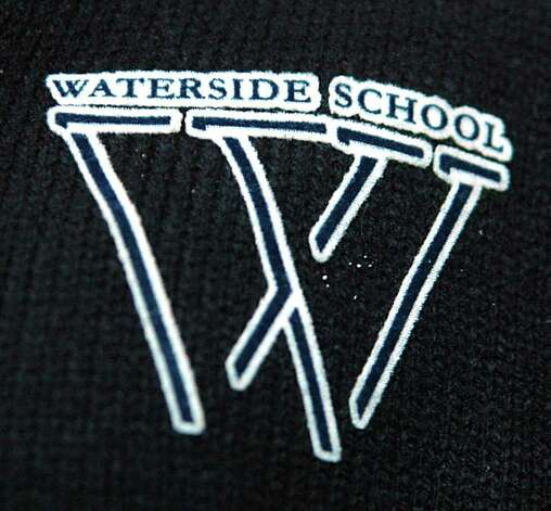 The Waterside School appears on the school uniform. Photo: Cathy Zuraw / Stamford Advocate