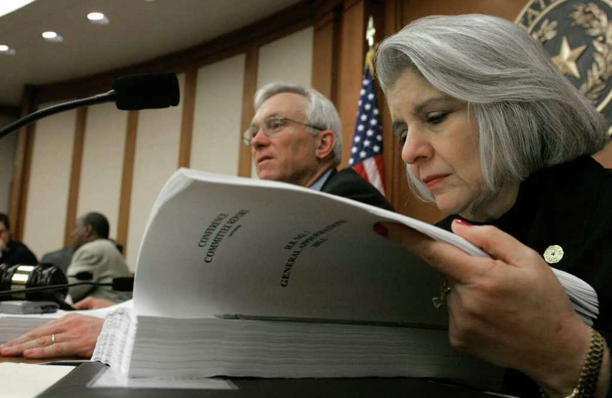 Sen. Judith Zaffirini is less than delighted with the Republicans' proposed remap: