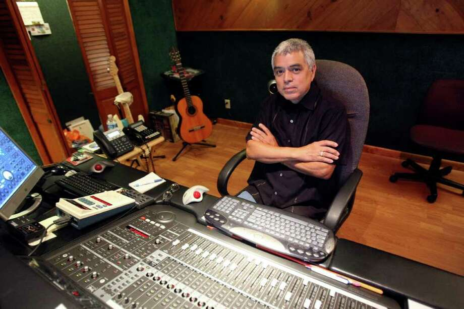 "It's worthy of mention that S.A.-based record producer Gilbert Velasquez produced three of the albums — ""New Horizons,"" ""Just Friends"" and ""Solo Tencha""  — nominated in the Tejano category. Photo: HELEN L. MONTOYA, San Antonio Express-News / SAN ANTONIO EXPRESS-NEWS"