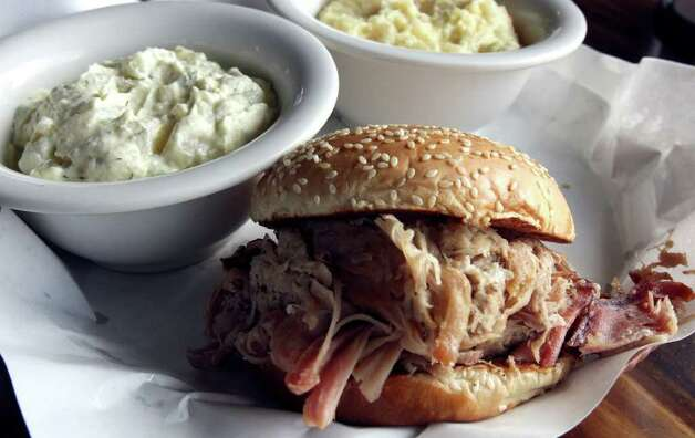 Dickey's Barbecue Pit, 834 NW Loop 410, Suite 105, 7247 Bandera Road and 6531 FM 78: Pork scores big here, from the tender pork ribs to the pulled pork sandwich.  Photo: Robert McLeroy, San Antonio Express-News / San Antonio Express-News