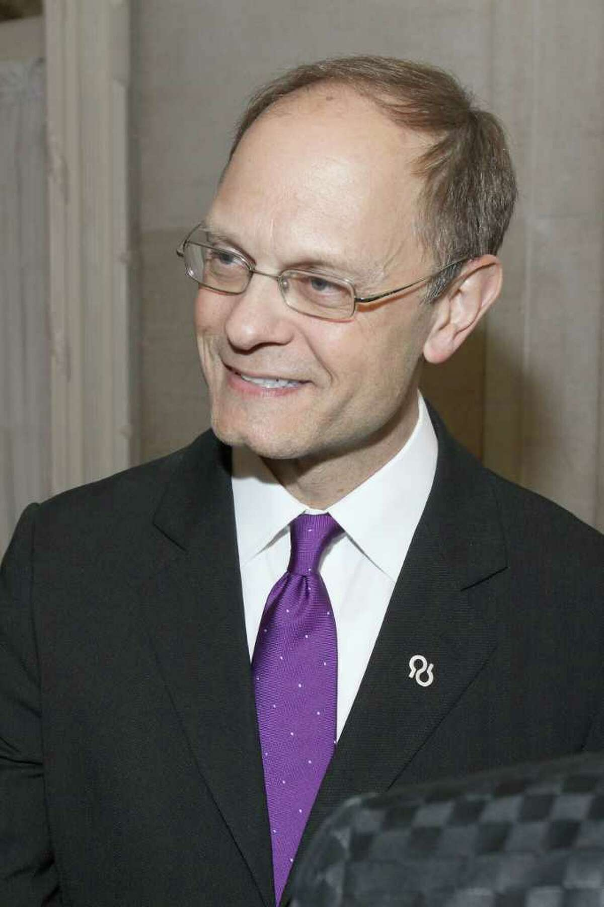 Guest celebrity host and honorary national board member David Hyde Pierce during Through the Looking Glass: An Evening to End Alzheimer's, a gala to benefit the Alzheimer's Association of Northeastern New York in Saratoga Springs on May 5, 2011. (Photo by Joe Putrock / Special to the Times Union)
