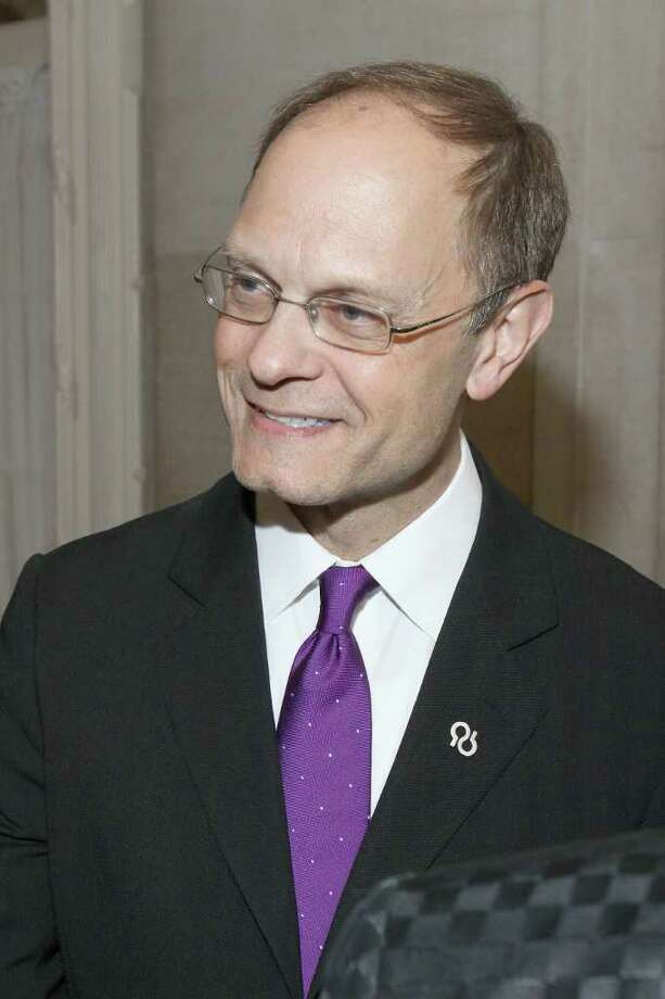 Guest celebrity host and honorary national board member David Hyde Pierce during Through the Looking Glass: An Evening to End Alzheimer's, a gala to benefit the Alzheimer's Association of Northeastern New York in Saratoga Springs on May 5, 2011. (Photo by Joe Putrock / Special to the Times Union) Photo: Joe Putrock / Joe Putrock