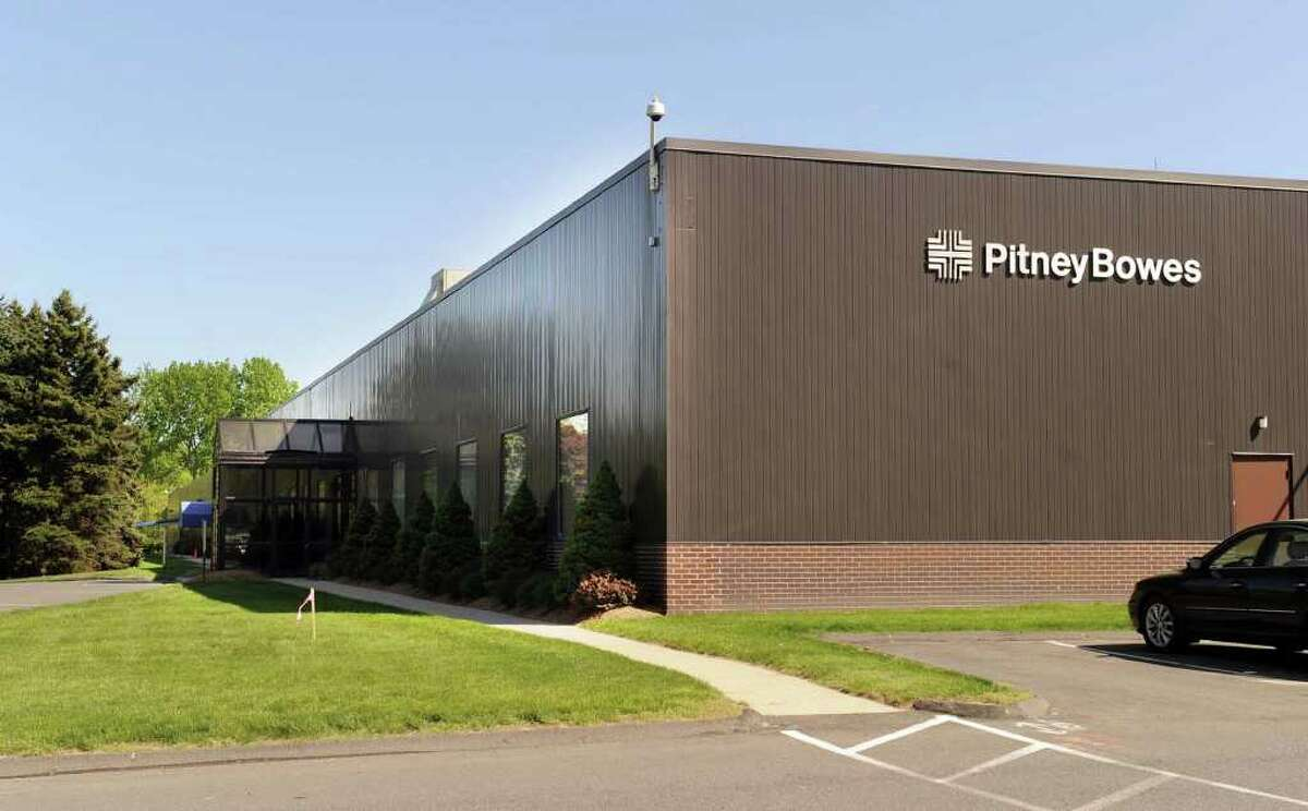 Pitney Bowes, on Executive Drive in Danbury, Thursday, May 12, 2011.